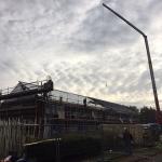 Dakrenovatie aan 24 woningen Nieuw Weerdinge