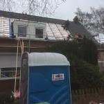 Nieuwe dakkapellen en dakpannen