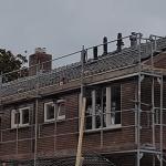 Renovatie van 28 woningen te Drachten